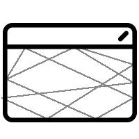 PSD סקיצות גרפיות עם כל מרכיבי האתר